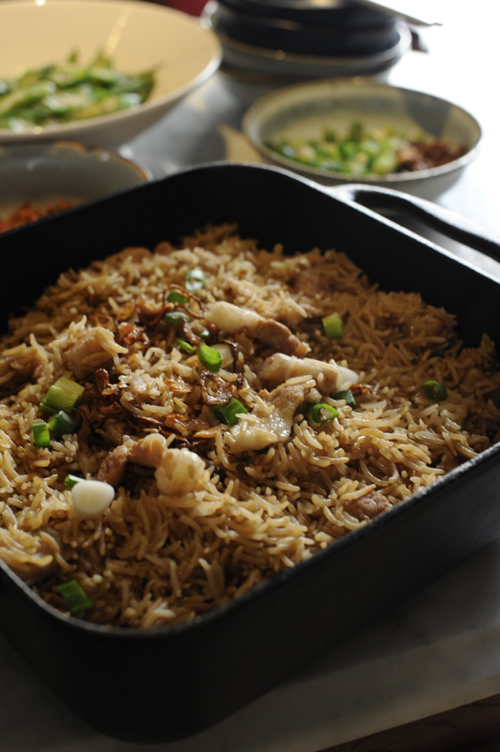 Yam Rice (Taro Rice) 芋头饭 – Hakka Chan
